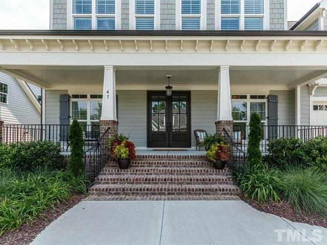 47 Ashwood Drive, Chapel Hill, NC 27516 (#2300409) :: Spotlight Realty