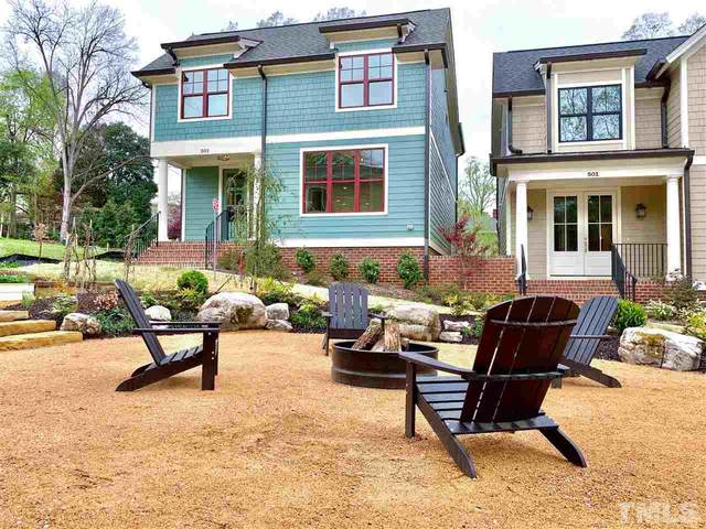 503 Hamilton Cottage Way, Raleigh, NC 27605 (#2310950) :: The Perry Group