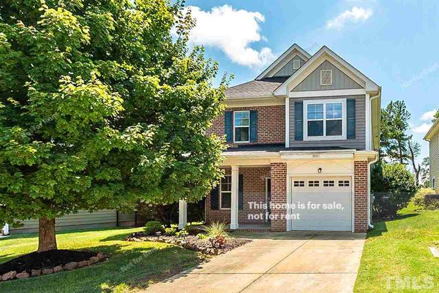 3801 Yates Mill Trail, Raleigh, NC 27606 (#2334199) :: Marti Hampton Team brokered by eXp Realty