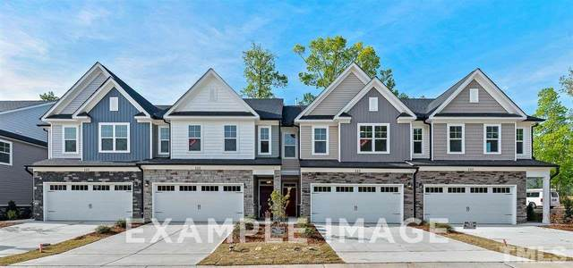 124 Orvis Drive #6, Holly Springs, NC 27540 (#2335640) :: Realty World Signature Properties