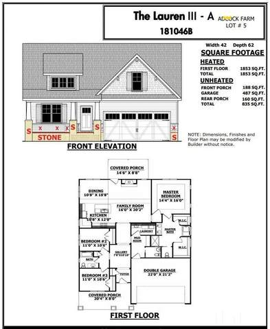 765 Grameta Lane, Lillington, NC 27546 (#2336853) :: Spotlight Realty