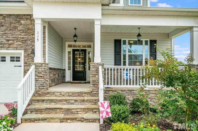 115 Gunderson Lane, Garner, NC 27529 (#2344628) :: Masha Halpern Boutique Real Estate Group