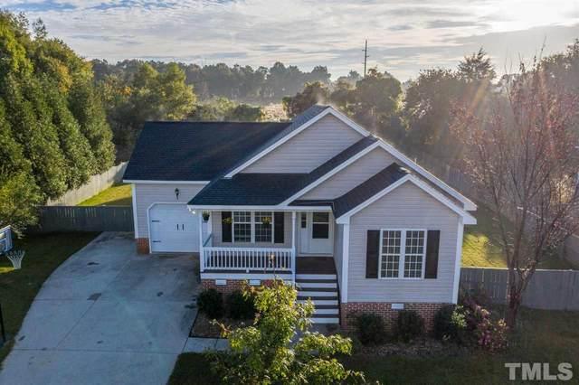 1225 Sweetclover Drive, Wake Forest, NC 27587 (#2348902) :: Dogwood Properties