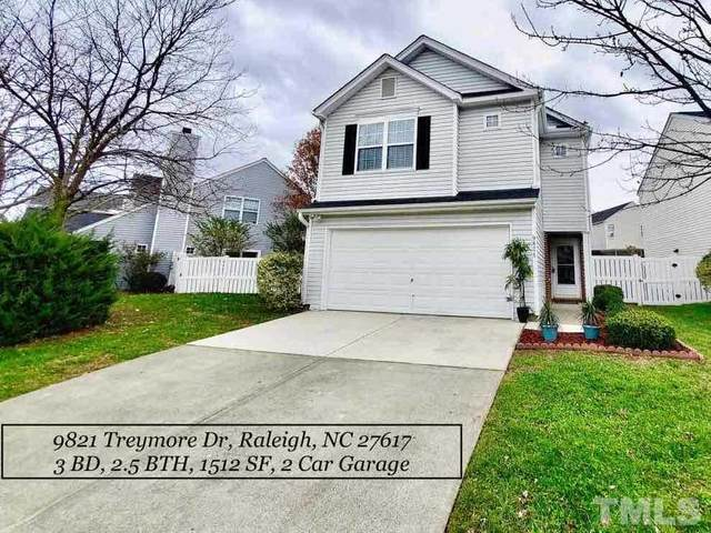9821 Treymore Drive, Raleigh, NC 27617 (#2356293) :: Marti Hampton Team brokered by eXp Realty