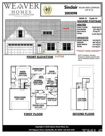 52 Trigger Court, Selma, NC 27576 (#2360345) :: Real Properties