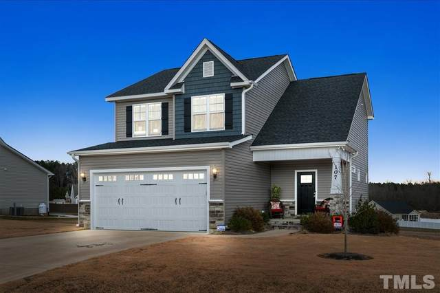 107 Heart Pine Drive, Wendell, NC 27591 (MLS #2362749) :: The Oceanaire Realty