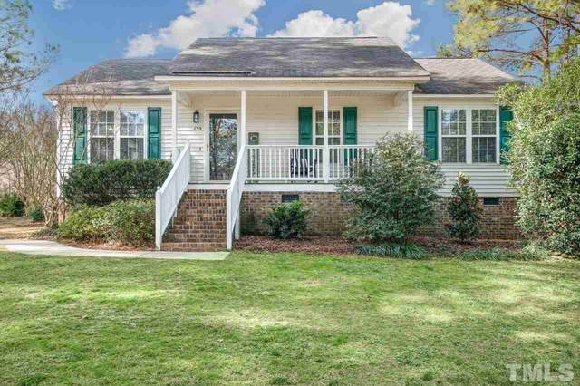 135 Hilltop Drive, Four Oaks, NC 27524 (#2364687) :: The Jim Allen Group