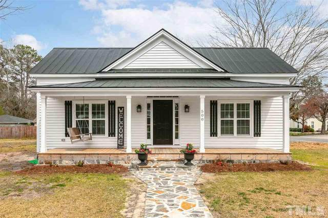 500 Maple Avenue, Four Oaks, NC 27524 (#2374325) :: The Rodney Carroll Team with Hometowne Realty