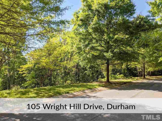 105 Wright Hill Drive, Durham, NC 27712 (#2376807) :: Triangle Just Listed