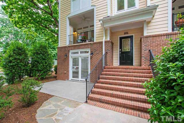 1120 Parkridge Lane #101, Raleigh, NC 27605 (#2382225) :: The Rodney Carroll Team with Hometowne Realty