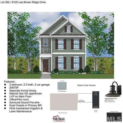 9105 Lee Brown Ridge Drive Lot 362, Wake Forest, NC 27587 (#2385134) :: Log Pond Realty