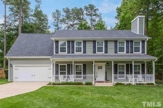 7412 Cape Charles Drive, Raleigh, NC 27617 (#2388296) :: Spotlight Realty