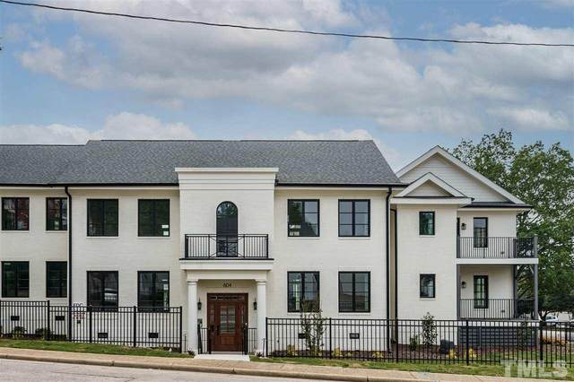 604 Daniels Street A, Raleigh, NC 27605 (#2394002) :: Realty One Group Greener Side