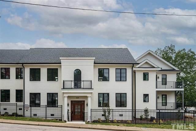 604 Daniels Street C, Raleigh, NC 27605 (#2394004) :: Realty One Group Greener Side