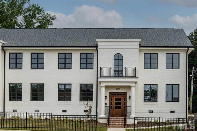2016 Smallwood Drive C, Raleigh, NC 27605 (#2394009) :: Realty One Group Greener Side