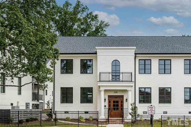 2018 Smallwood Drive C, Raleigh, NC 27605 (MLS #2394011) :: The Oceanaire Realty