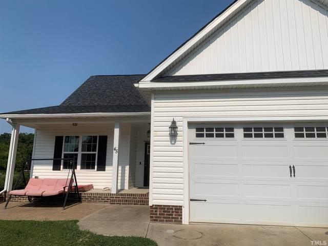 45 Cotton Drive, Louisburg, NC 27549 (#2407238) :: The Jim Allen Group