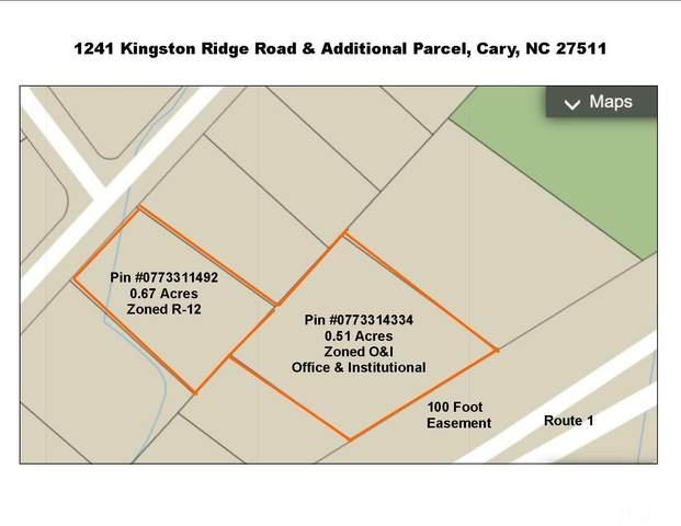 1241 Kingston Ridge Road, Cary, NC 27511 (#2408356) :: Rachel Kendall Team