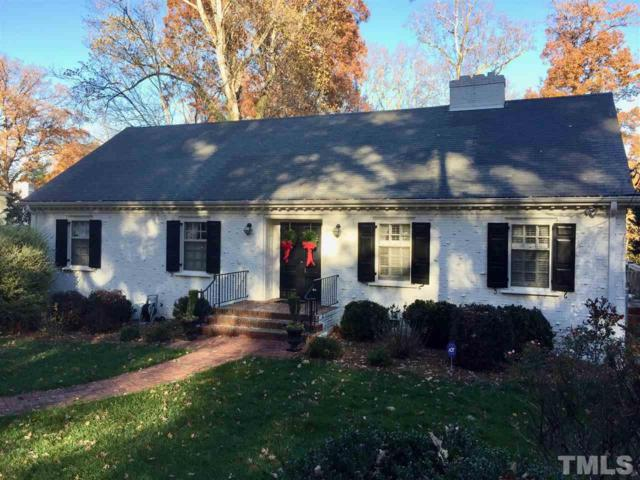2730 Riddick Drive, Raleigh, NC 27609 (#2160985) :: Triangle Midtown Realty