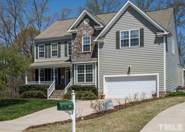 104 Big Laurel Court, Holly Springs, NC 27540 (#2184629) :: The Perry Group