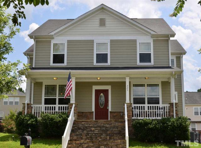 225 Austin View Boulevard, Wake Forest, NC 27587 (#2191577) :: The Jim Allen Group