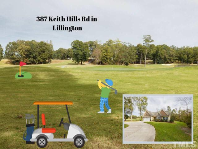 387 Keith Hills Road, Lillington, NC 27546 (#2224593) :: M&J Realty Group