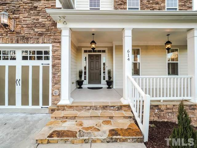 614 Albion Place, Cary, NC 27519 (#2291485) :: The Perry Group