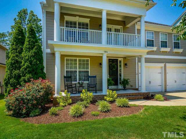 104 Meadowcrest Place, Holly Springs, NC 27540 (#2330192) :: The Rodney Carroll Team with Hometowne Realty