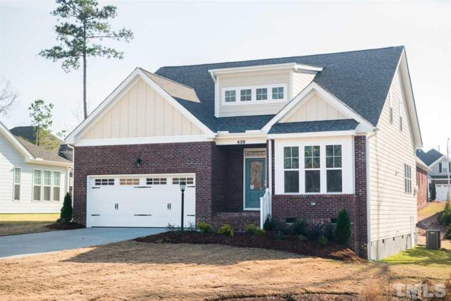 438 Sippihaw Oaks Drive #121, Fuquay Varina, NC 27526 (#2149410) :: Raleigh Cary Realty