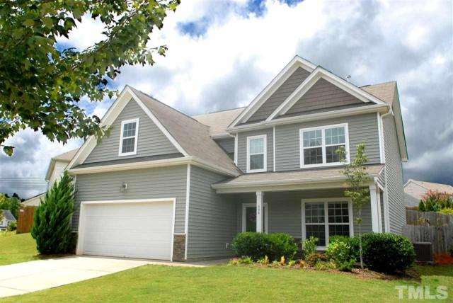 604 Wellspring Drive, Holly Springs, NC 27540 (#2206210) :: The Abshure Realty Group