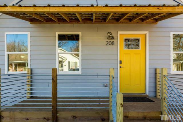 208 Bledsoe Avenue, Raleigh, NC 27601 (#2216262) :: Morgan Womble Group