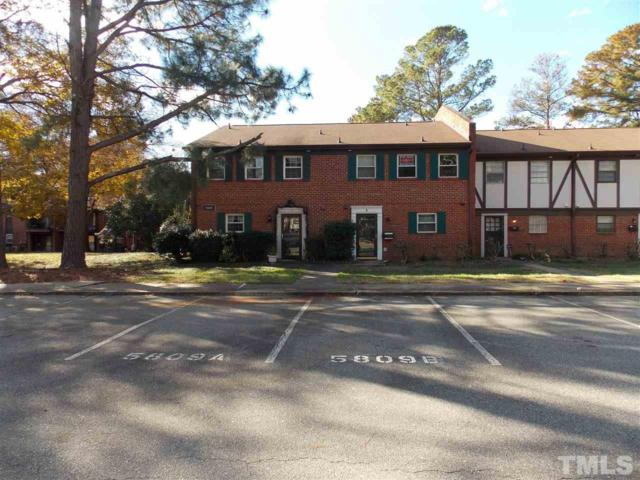 5809 Nottoway Court B, Raleigh, NC 27609 (MLS #2225959) :: The Oceanaire Realty