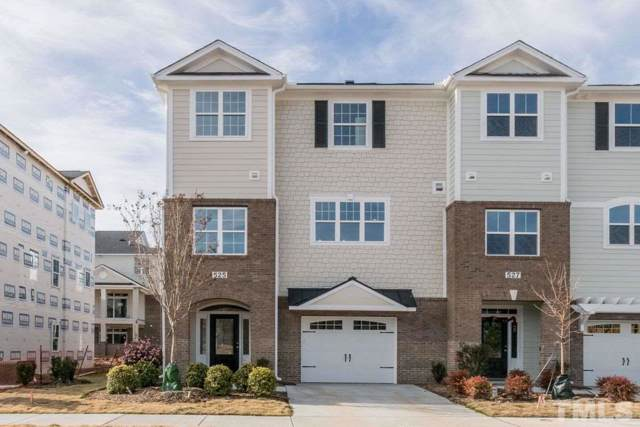 525 Gathering Park Circle #15, Cary, NC 27519 (#2251661) :: Real Estate By Design