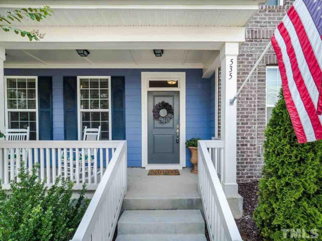 535 Grand Central Station, Apex, NC 27502 (#2263849) :: Marti Hampton Team - Re/Max One Realty