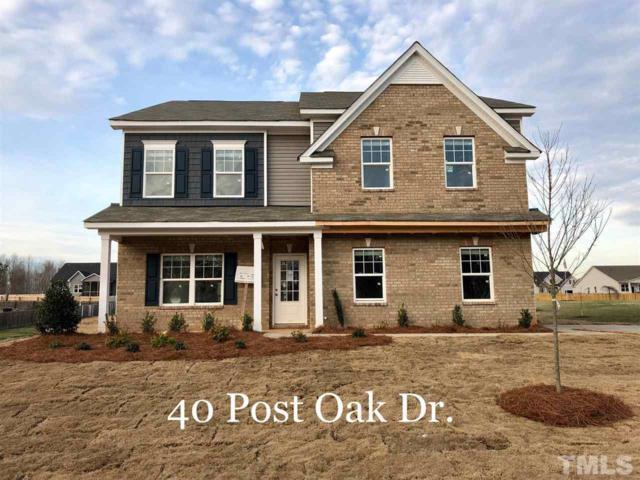 40 Live Oak Drive, Louisburg, NC 27549 (#2148362) :: The Jim Allen Group