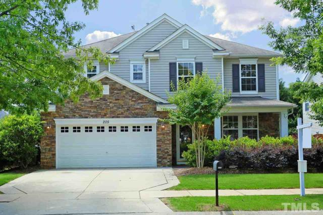 205 Folsom Drive, Holly Springs, NC 27540 (#2195850) :: The Jim Allen Group