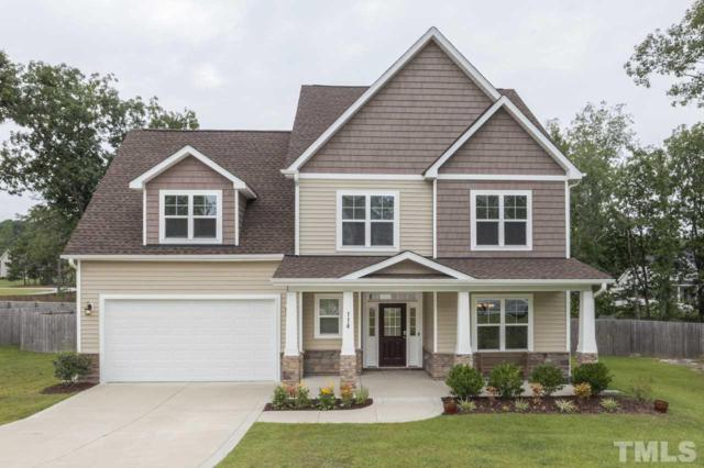 114 Cherry Hill Drive, Lillington, NC 27546 (#2205391) :: The Perry Group