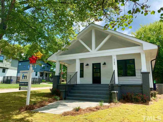 1103 S Bloodworth Street, Raleigh, NC 27601 (#2259225) :: Marti Hampton Team - Re/Max One Realty
