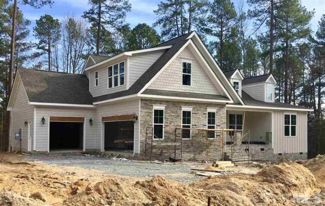 54 Horizon Drive Lot 1, Pittsboro, NC 27312 (#2164377) :: Rachel Kendall Team, LLC