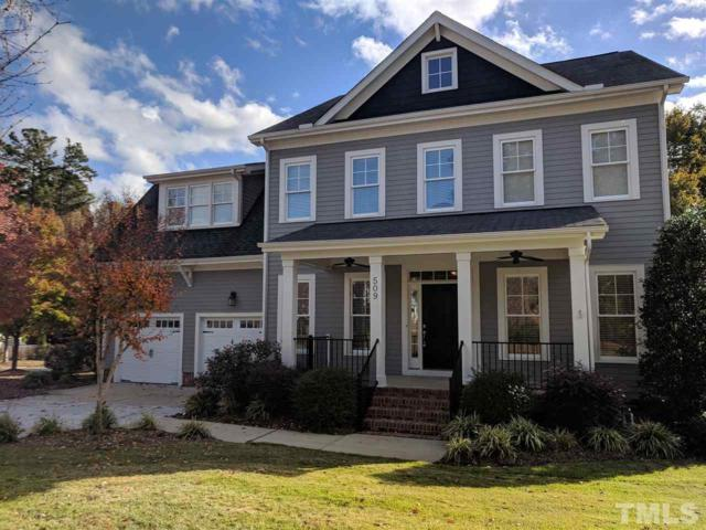 509 Streamwood Drive, Holly Springs, NC 27540 (#2207931) :: The Perry Group