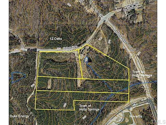 0 Holly Springs New Hill Road, Apex, NC 27539 (#1913158) :: Chad Jemison Team
