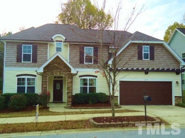 224 E Quailwood Drive, Fuquay Varina, NC 27526 (#2161563) :: The Jim Allen Group