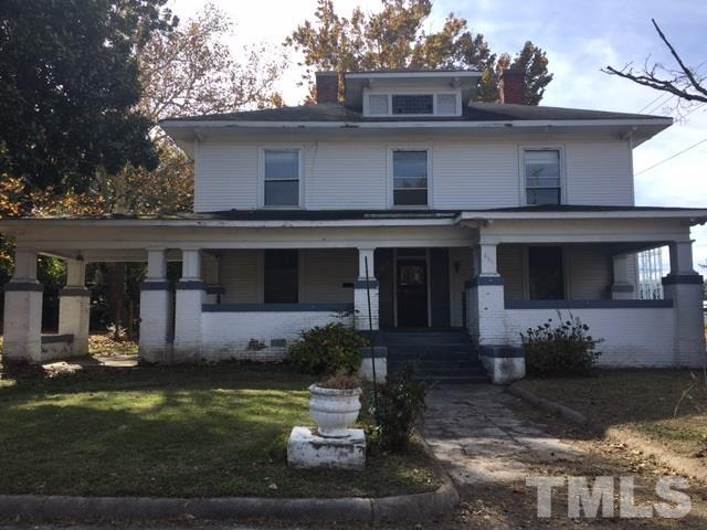 601 Tarboro Street, Rocky Mount, NC 27801 (#2162661) :: The Abshure Realty Group