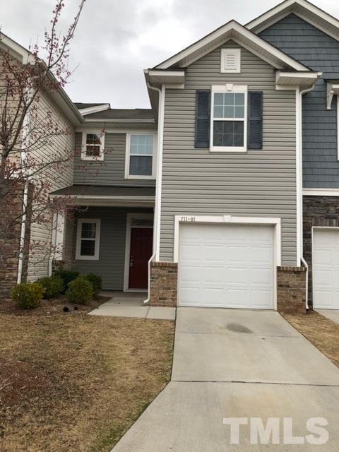 711 Keystone Park Drive #81, Morrisville, NC 27560 (#2171895) :: The Jim Allen Group
