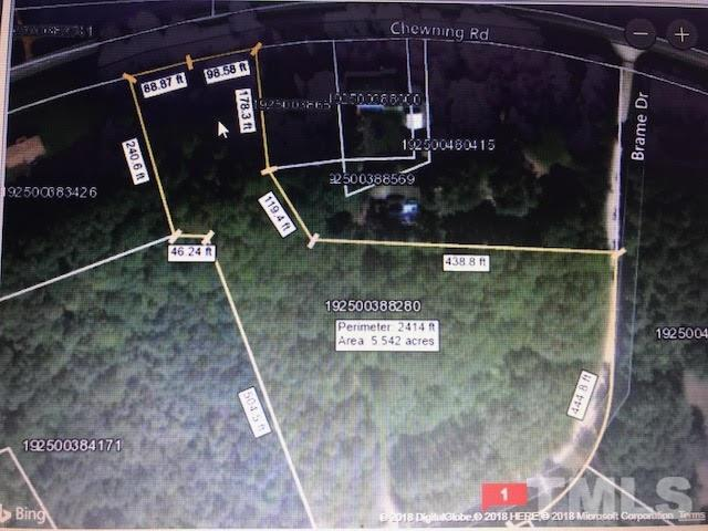 Lot 9 Brame Road, Oxford, NC 27565 (#2172403) :: The Jim Allen Group
