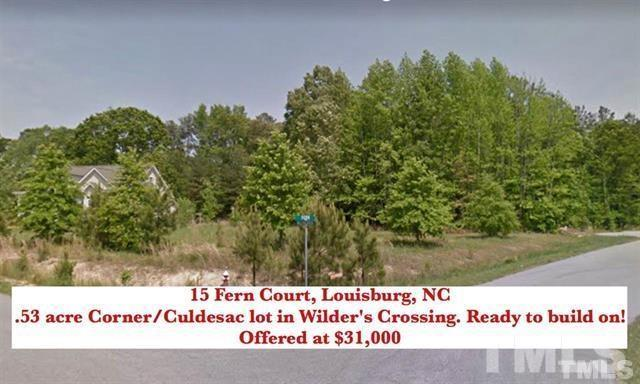 15 Fern Court, Louisburg, NC 27549 (#2173675) :: Raleigh Cary Realty