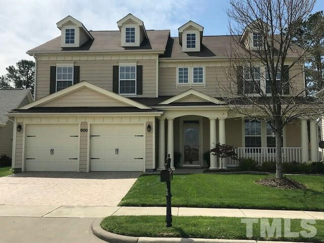 600 Tranquil Sound Drive, Cary, NC 27519 (#2184656) :: The Abshure Realty Group