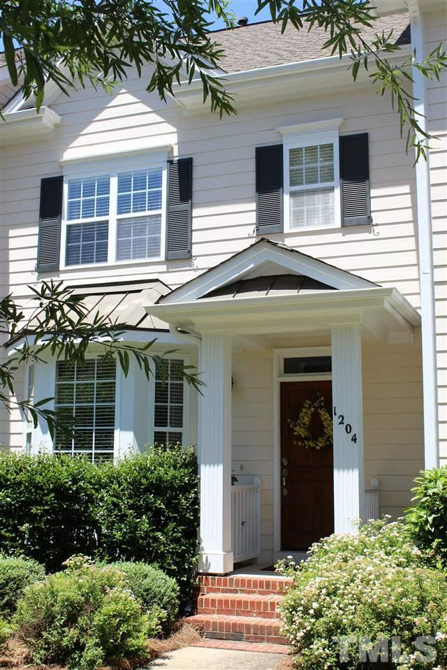 1204 Colonial Club Road, Wake Forest, NC 27587 (#2196208) :: The Jim Allen Group