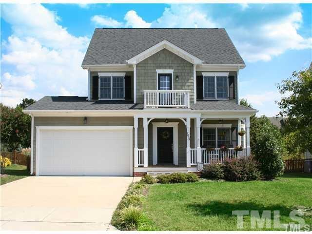 1033 Heritage Greens Drive, Wake Forest, NC 27587 (#2200586) :: Allen Tate Realtors