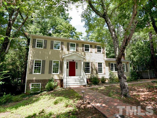 1907 Fountain Ridge Road, Chapel Hill, NC 27517 (#2208033) :: The Jim Allen Group